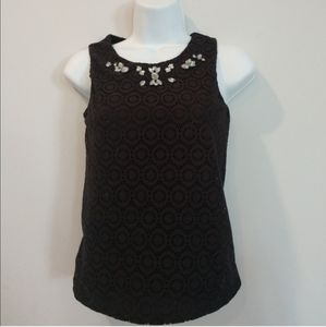 Disney Minnie Mouse jeweled sleeveless blouse
